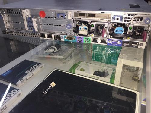servidor hp dl380 g7 2 xeon quad core32gb 2sas 300 garantia