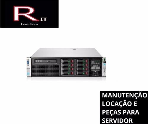 servidor hp dl380p g8 octacore 4x600gb 64gb ram igual r720