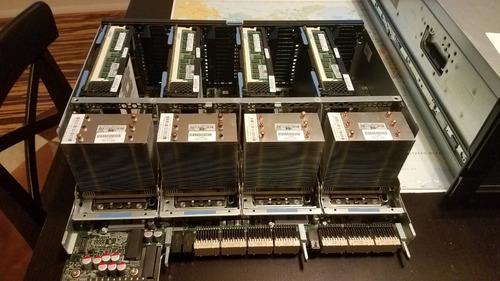 servidor hp dl580 g7 4x xeon deca 10c 256gb ram 3.6tb hd