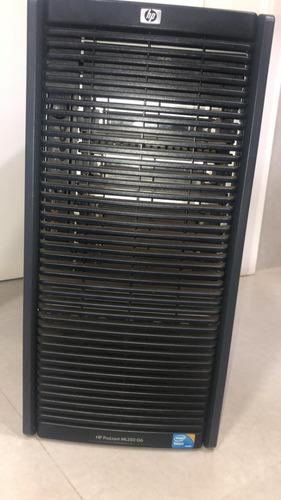 servidor - hp - g6 ml350 - xeon e5620 8gb ram 2,4ghz