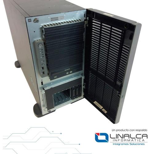 servidor hp ml350g5 qc e5420 2.5ghz 4gb 5x146gb sas