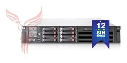 servidor hp proliant dl 380 g6 (f2-r18-d2x146) x214
