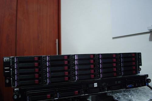 servidor hp proliant dl180 g6 25 discos duros de 300 gb 24gb