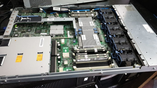servidor hp proliant dl360 g7 2xeon x5650 32gb 2sas450 + ssd