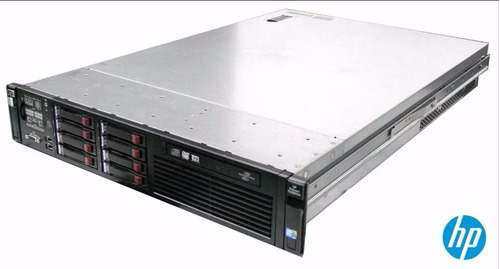 servidor hp proliant dl380 g6 intel quad 32gb 2x146gb hd sas