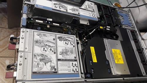 servidor hp proliant dl380g5 xeon 40gb hd 146gb sas