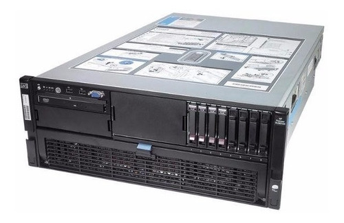 servidor hp proliant dl580 g5 32gb ram 4x 146 gb sas xeon