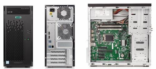 servidor hp proliant ml10 gen9 i3-6100 3.7ghz 4gb ddr4 ram
