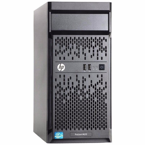 servidor hp proliant ml10 v2 intel core i3, 8gb ram 1tb dd.