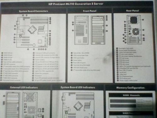 servidor hp proliant ml110 g5 perfecto estado