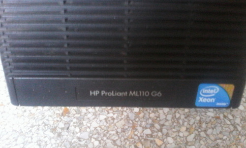servidor hp proliant ml110 g6