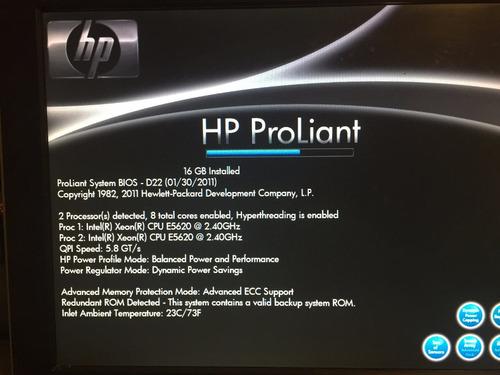 servidor hp proliant ml350 g6 - 16 nucleos!!