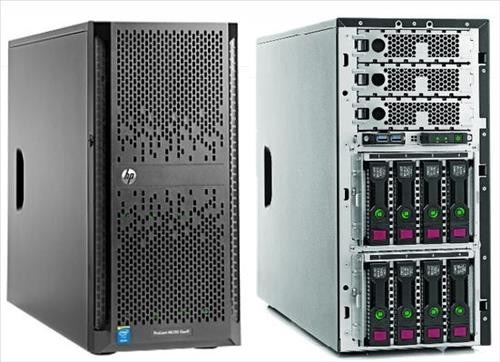 servidor hp proliant ml350 gen9 xeon e5-2620v4 2.10g 16g