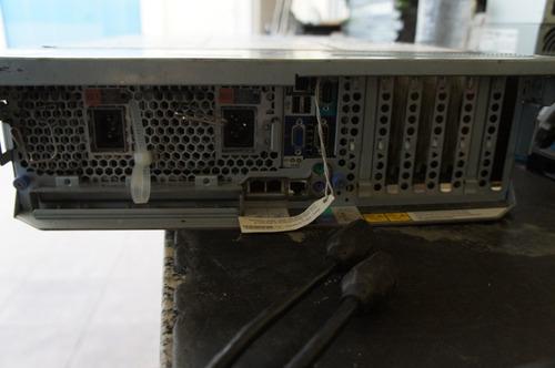 servidor ibm system server x3850 4 proc. dual core 4g nº48