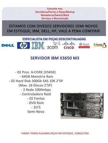 servidor ibm x3650 m3