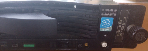 servidor ibm  xseries 336 modelo: 8676-2vu