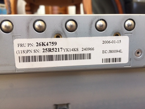 servidor ibm xseries 346-2x intel xeon ,2tb hd,8gb ram