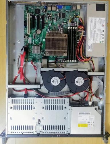 servidor intel xeon x3430 8gb ddr3 500gb supermicro pc