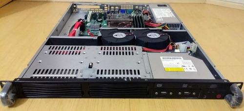 servidor intel xeon x3430 8gb ddr3 500gb supermicro trilhos