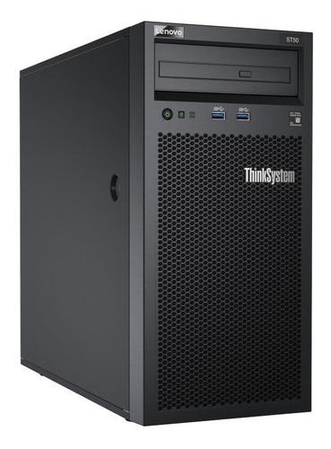 servidor lenovo st-50 xeon e-2104g 3,2ghz disco 1tb  8gb ram