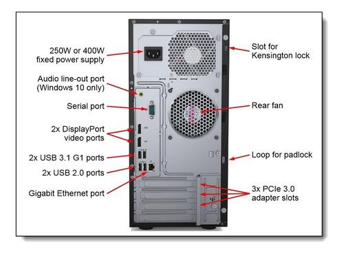 servidor lenovo st50 thinkserver. xeon e-2100 1tb 8gb ddr4