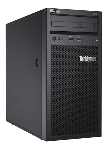 servidor lenovo thinkserver st50 - 7y48a00lbr (xeon e-2104g, 1 x 8gb ddr4, hd 1tb hd sata 7.2k, 3 anos on-site)