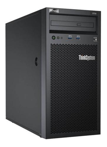 servidor lenovo thinksystem st50 xeon e-2104g 8gb+480gb ssd