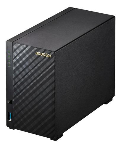 servidor nas asustor as1002t v2 16tb (2x8tb) cloud ftp