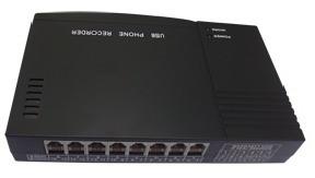 servidor para garbacion de lineas telefonicas 4 lineas