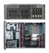 servidor quad xeon hp proliant dl580 g2 rack