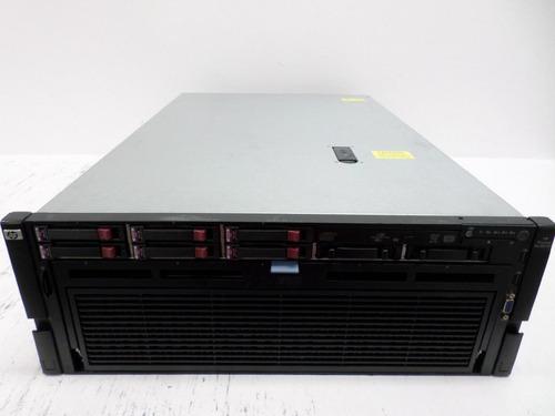 servidor quad xeon x7540 hp dl580 gen7 - 2x hd 600gb 64gb