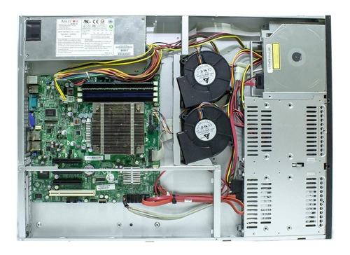 servidor rack 1u xeon hd 1tb 8gb ram - oferta