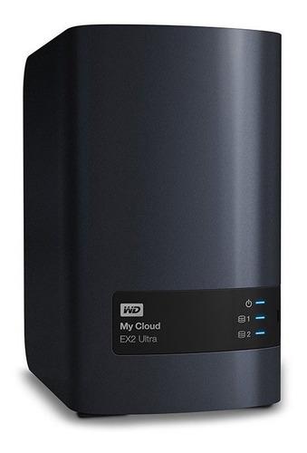 servidor storage nas wd my cloud ex2 ultra 8tb (2x4tb) raid