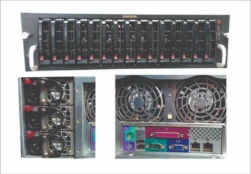 servidor storage supermicro intel xeon 5440 dual, 16gb ram.