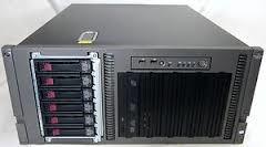 servidor storage/almacen nas hp aio600 12 tb