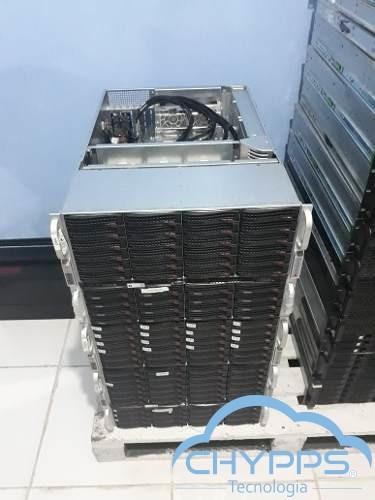 servidor supermicro 2 processadores xeon e52670v1 + 32gb ram