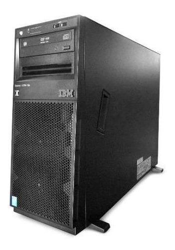servidor torre ibm xseries x3300 m4 xeon six 8gb 600 gb