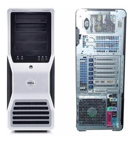 servidor workstation dell precision t7500 - six core - 8gb