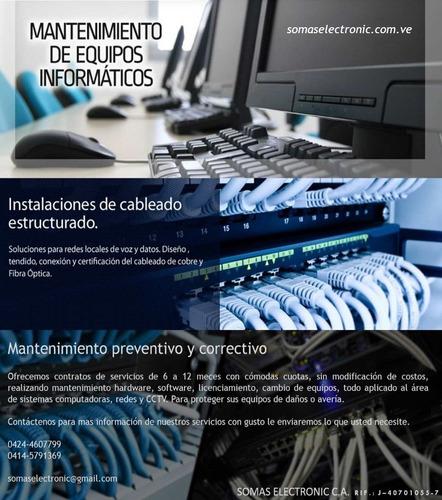 servidores, redes, servicio