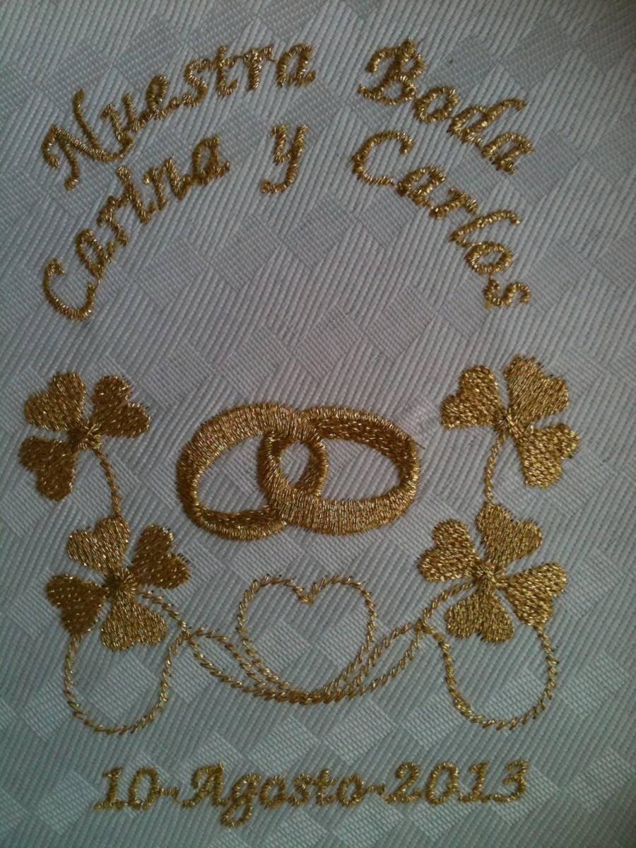 Servilleta bordada mdn en mercado libre for Decoracion de servilletas