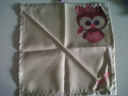 servilleta de tela pañuelo personalizado sublimacion fiesta
