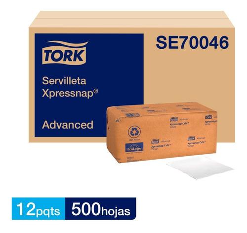 servilleta interfoliada tork xpressnap® 12 paquetes 500 hjs.