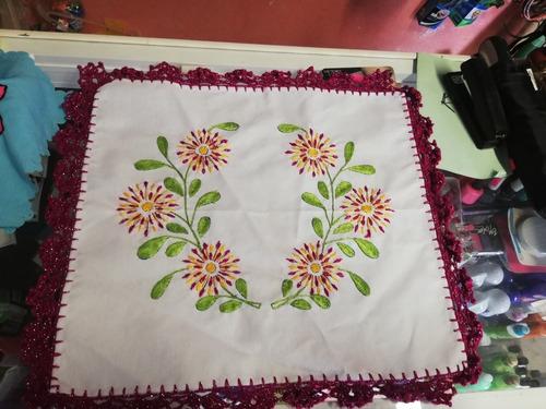 servilletas bordadas artesanalmente