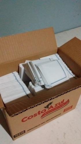 servilletas de papel 18x18 con guarda  x 1800 unidades