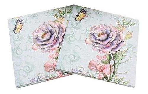 servilletas de papel de 40 unidades diseñadas impresiones d