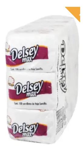 servilletas delsey max 12 paquetes con 100 pzas c/u