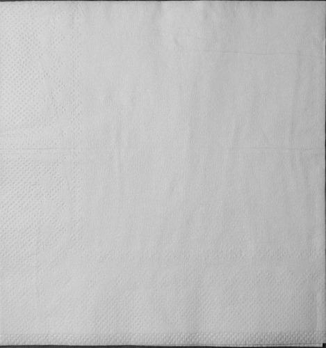 servilletas premium blancas papel tissue 24x24 cm x 2000 uni