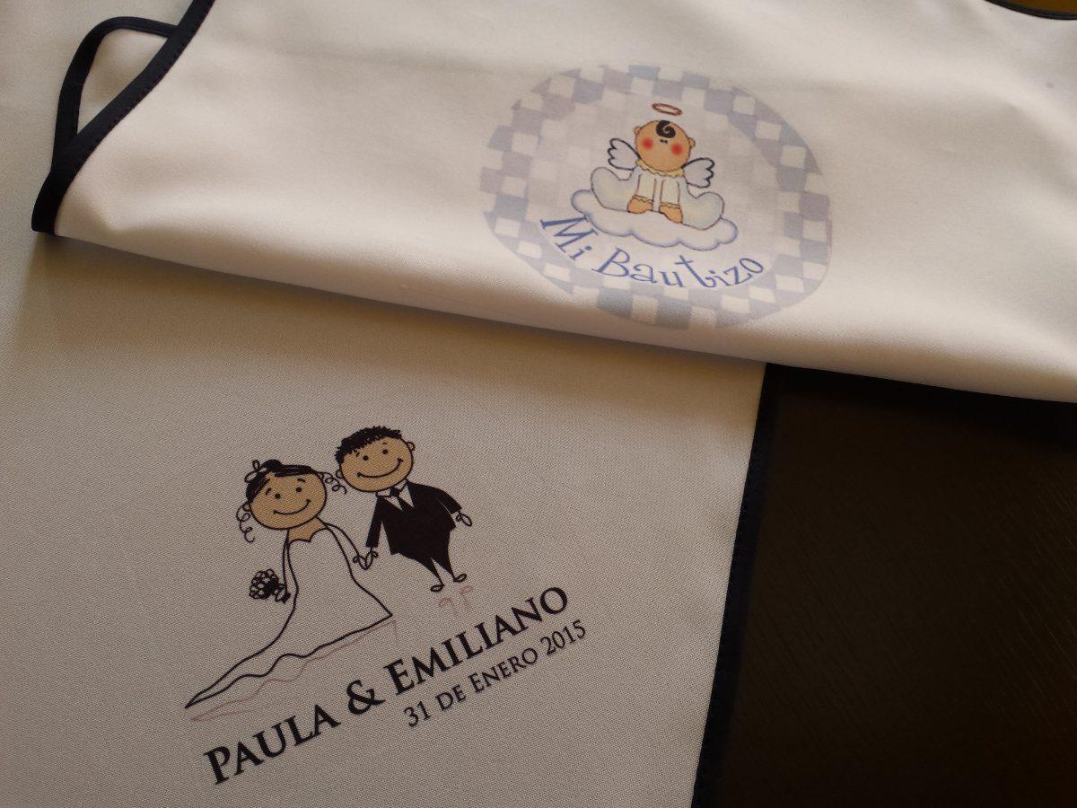 Servilletas tela recuerdo boda fiesta xv personalizadas en mercado libre - Servilletas personalizadas ...