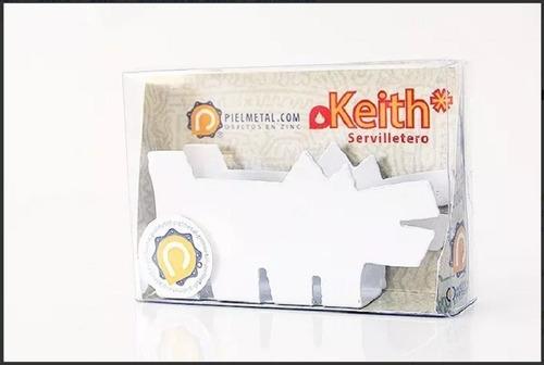 servilletero de metal keith perro super original colores