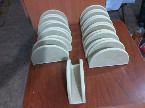 servilletero en mdf de 9 milímetros, crudo, natural por unid